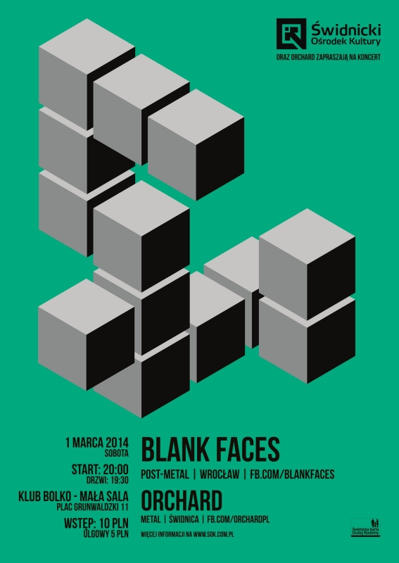 plakat Blank Faces + Orchard