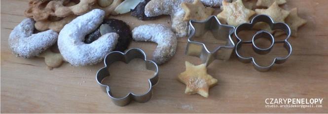 Czary Penelopy: Ciasteczka świąteczne czyli słodka patera wspomnień