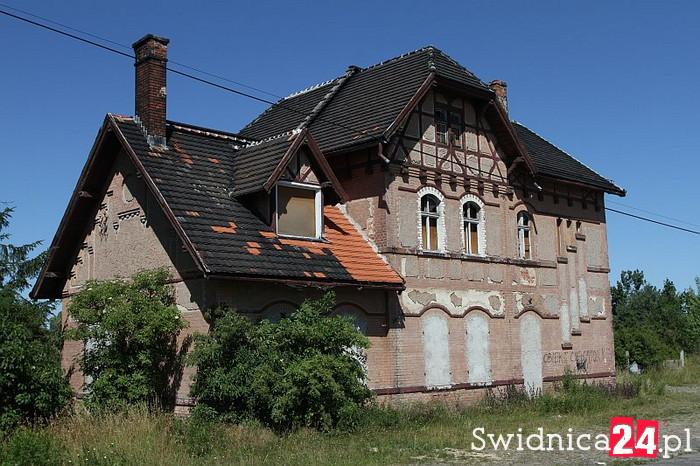Dworzec Kraszowice bliżej zagospodarowania