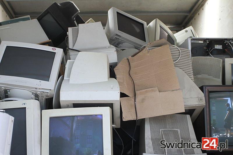 Elektrośmieci zbiorą także w gminie Marcinowice