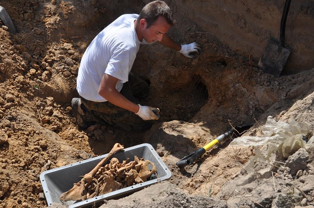 Odnaleźli szczątki żołnierzy