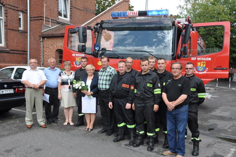Nowy wóz bojowy dla strażaków