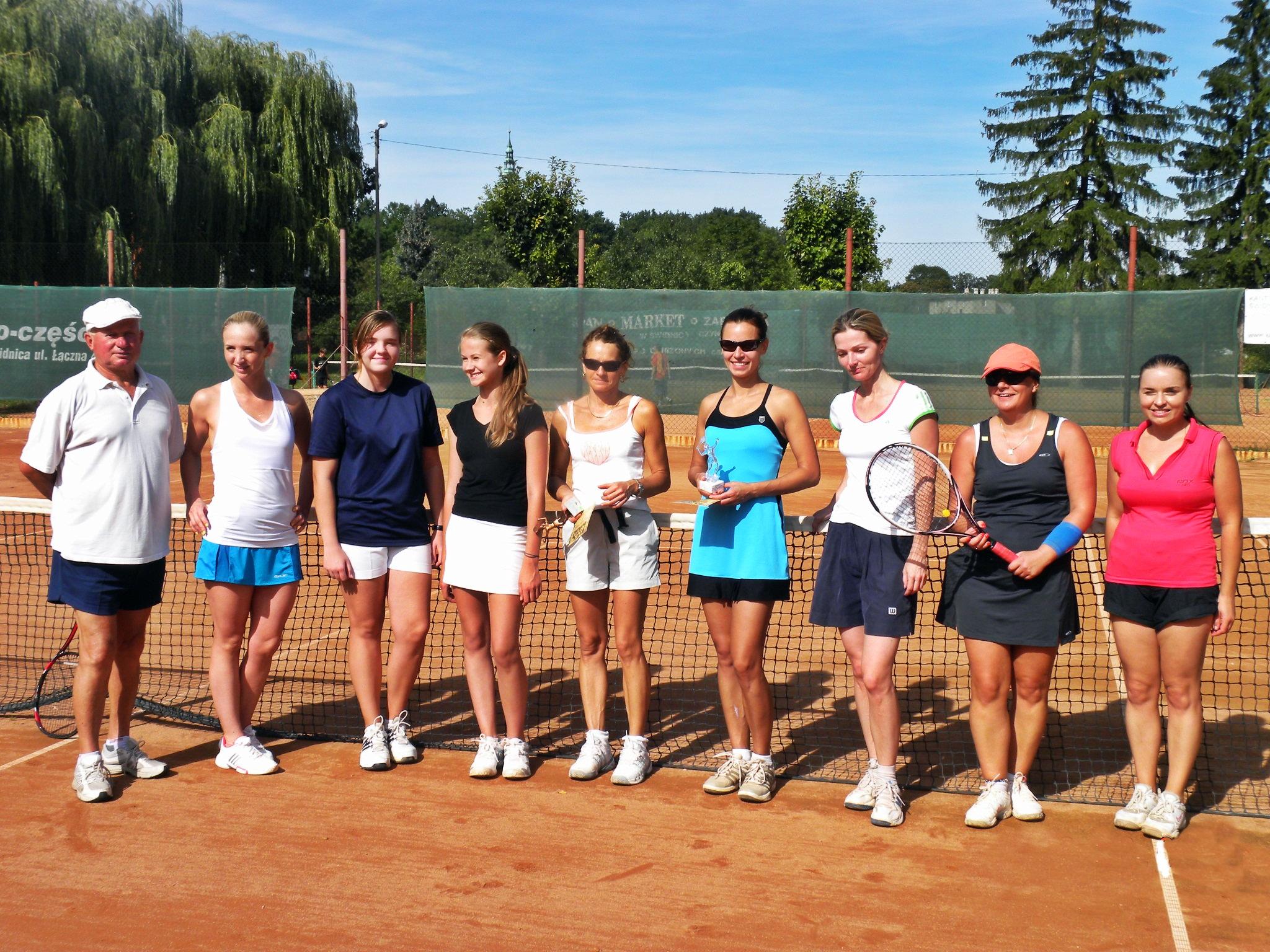 Tenisowy turniej kobiet [FOTO]