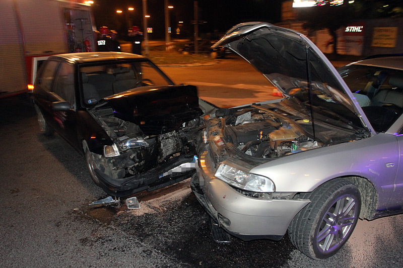 Wypadek na skrzyżowaniu [FOTO]