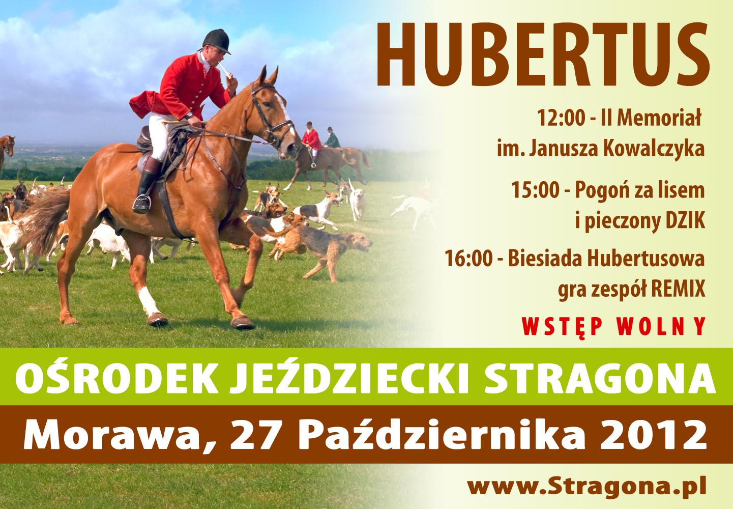 LKS Stragona zaprasza na Hubertusa