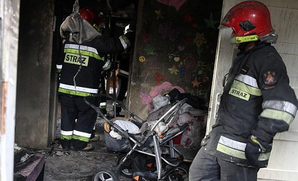 Wielka pomoc dla poszkodowanych w pożarze