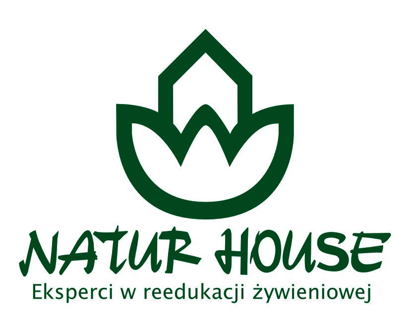 Logo Naturhouse pionowe ładne