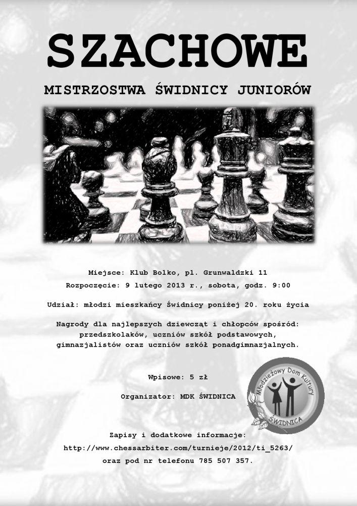 Turniej szachowy na koniec ferii
