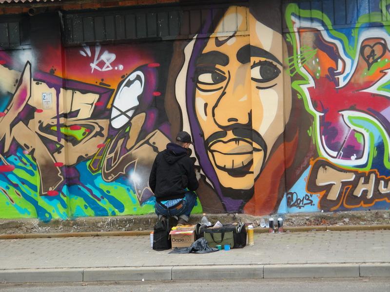 Legalna ściana graffiti [FOTO]