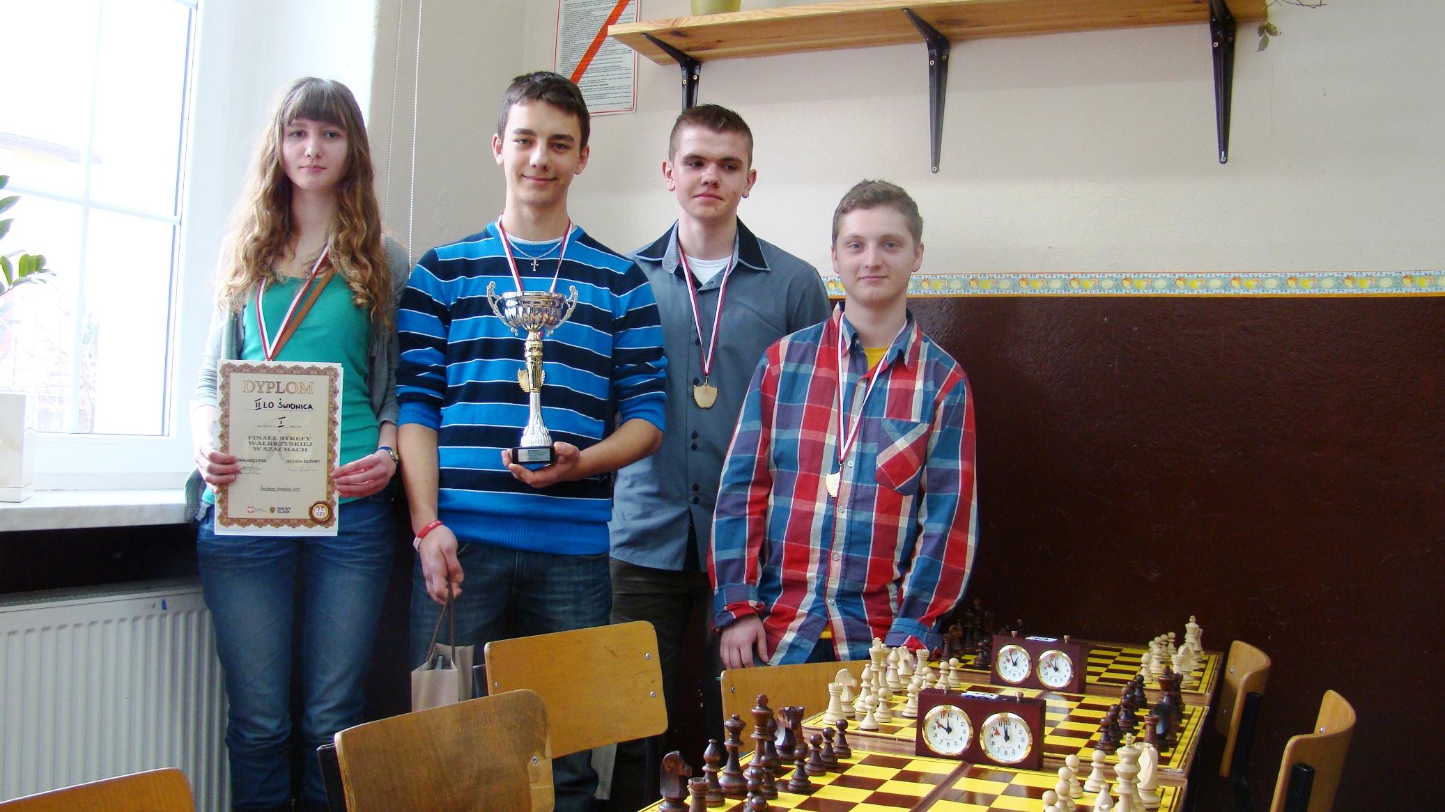 Szachiści z II LO zakwalifikowali się do Mistrzostw Polski