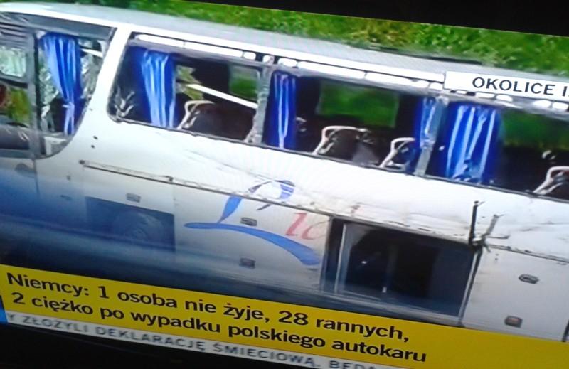 wypadek autokar