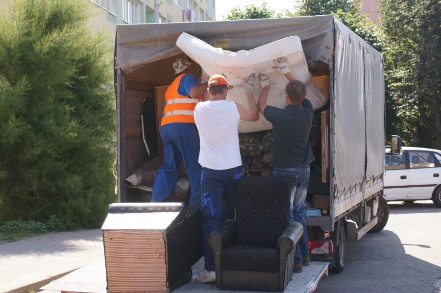 Oddaj duże śmieci