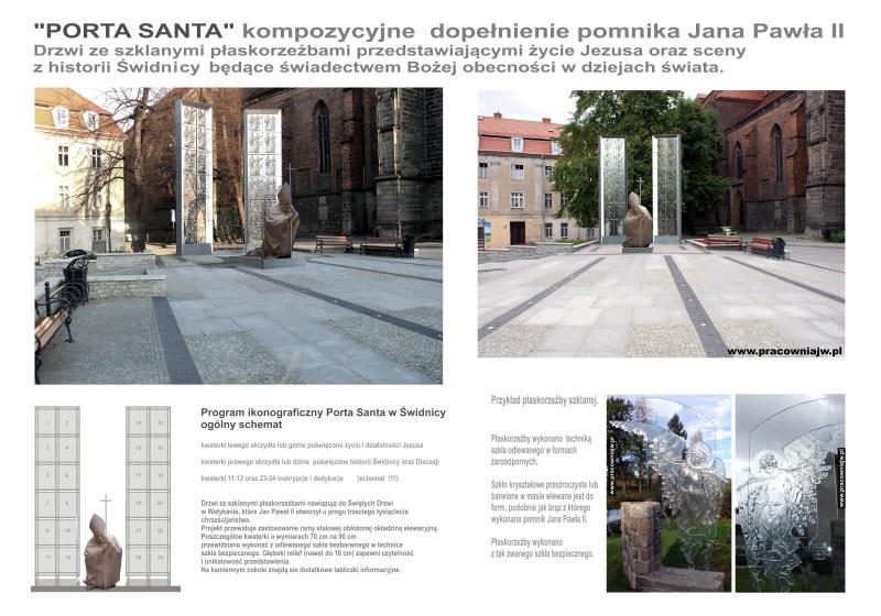 plansza Porta Santa duża 70 na100