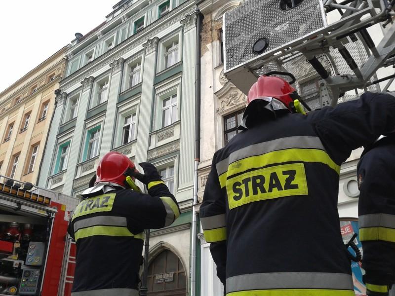 pożar Rynek
