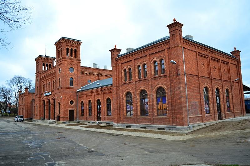 Dworzec w Świebodzicach