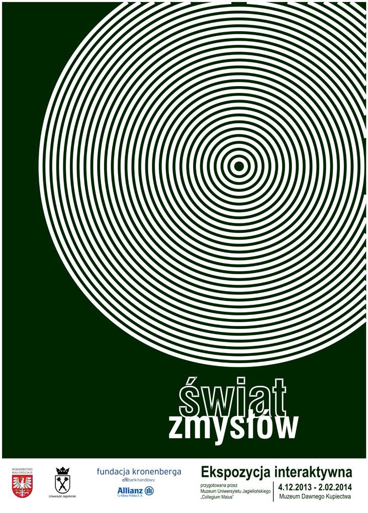 Plakat Swiat zmyslow