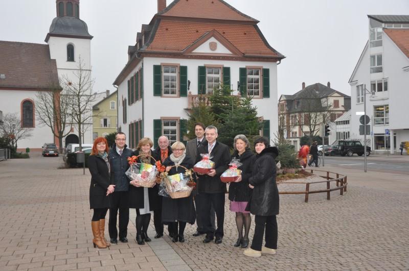 Wizyta w Lampertheim-3 od prawej to nowy burmistrz miasta Lampertheim (2)