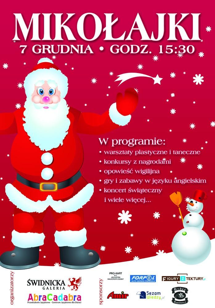 plakat Mikołajki