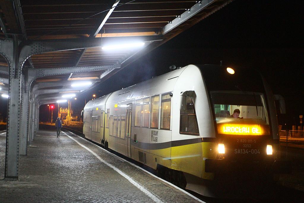 pociąg powitanie