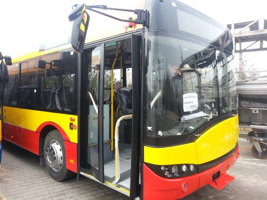 Nowe autobusy już dotarły