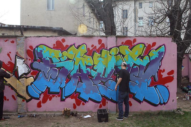 Graffiti i hip-hop przywitały wiosnę [FOTO/VIDEO]