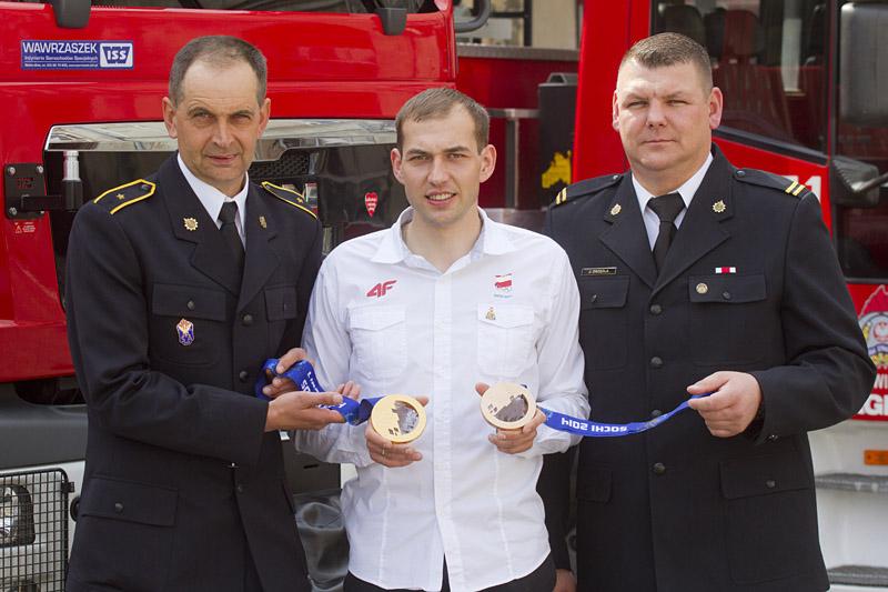 Mistrz olimpijski odwiedził Świdnicę [FOTO, VIDEO]