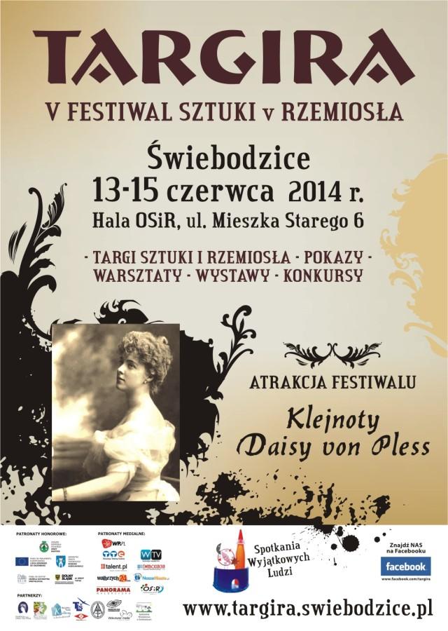 plakat A3 Targira 2014