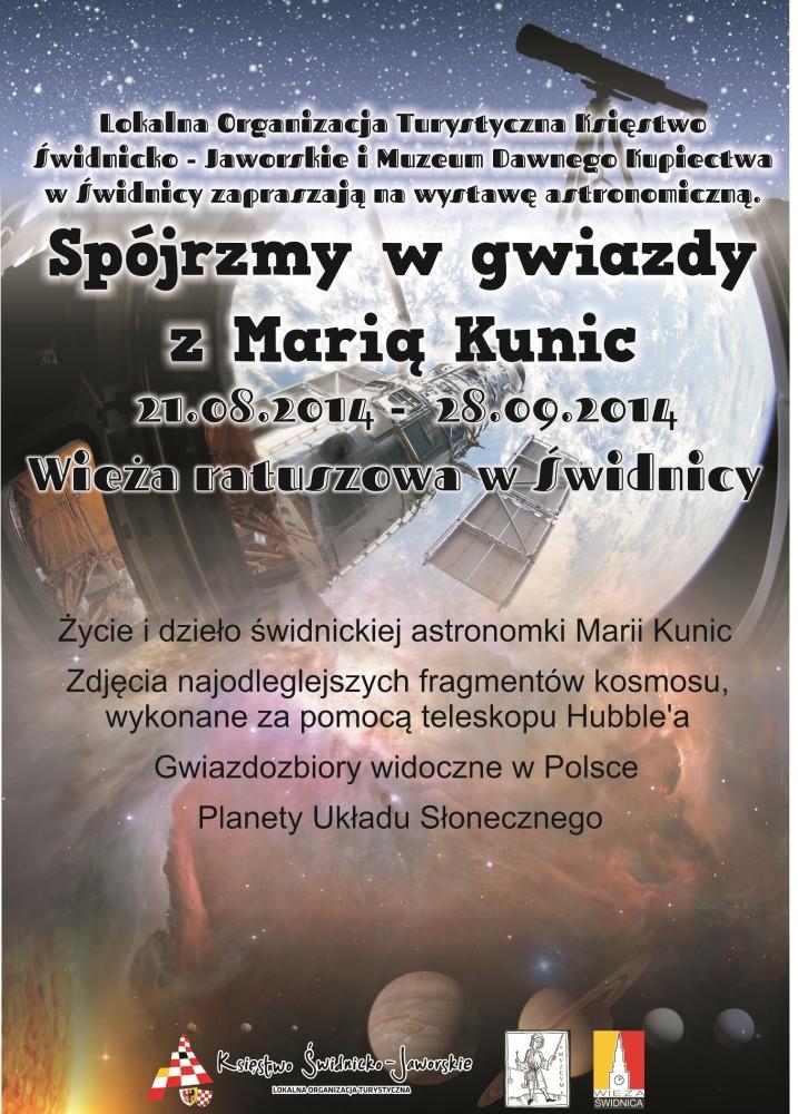 plakat_wystawa astronomiczna