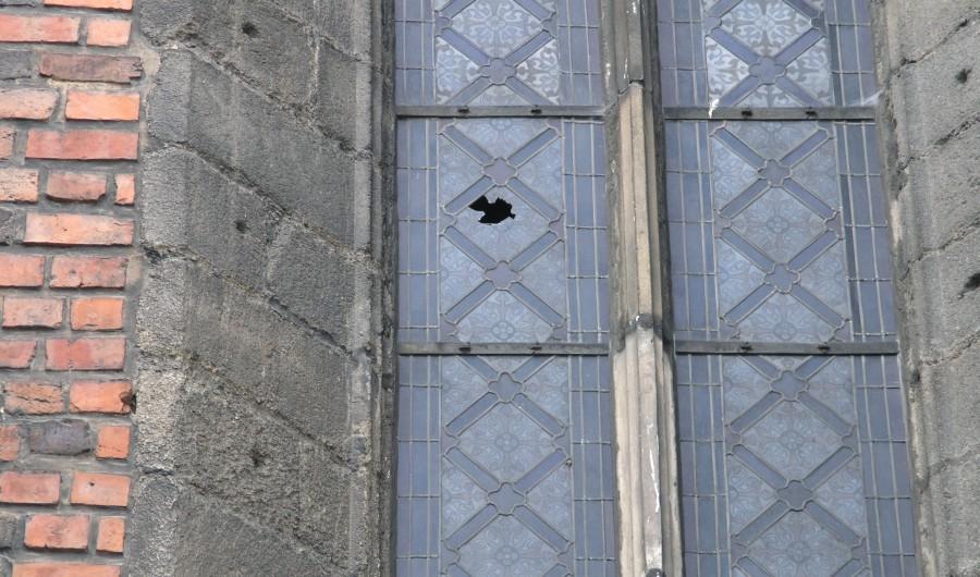 witraż katedra