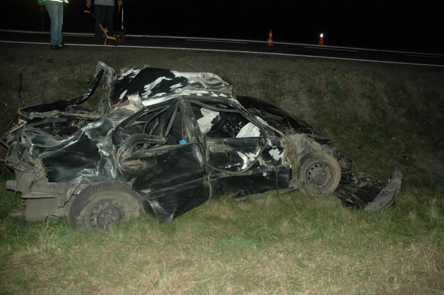 wypadek Honda