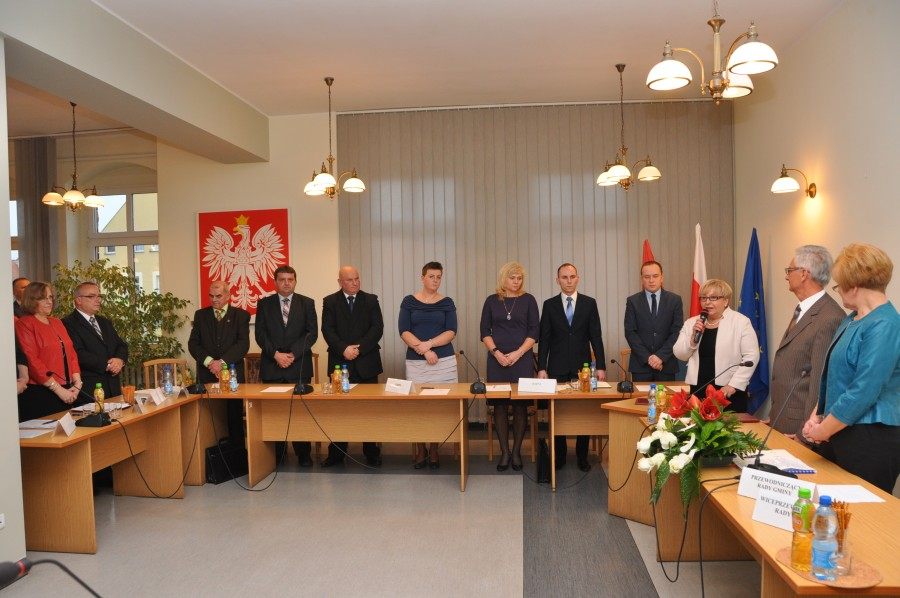 Pierwsza sesja Rady Gminy Świdnica