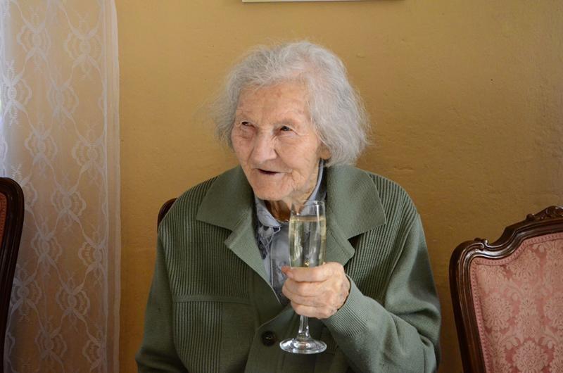 Sto lat pani Julii z Pożarzyska