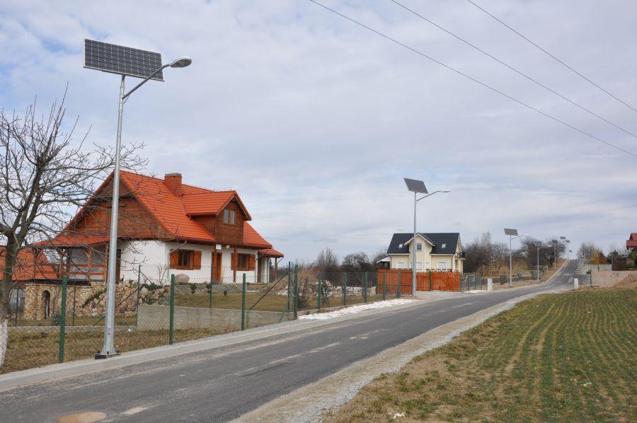 Nowe  oświetlenie uliczne w Witoszowie Dolnym