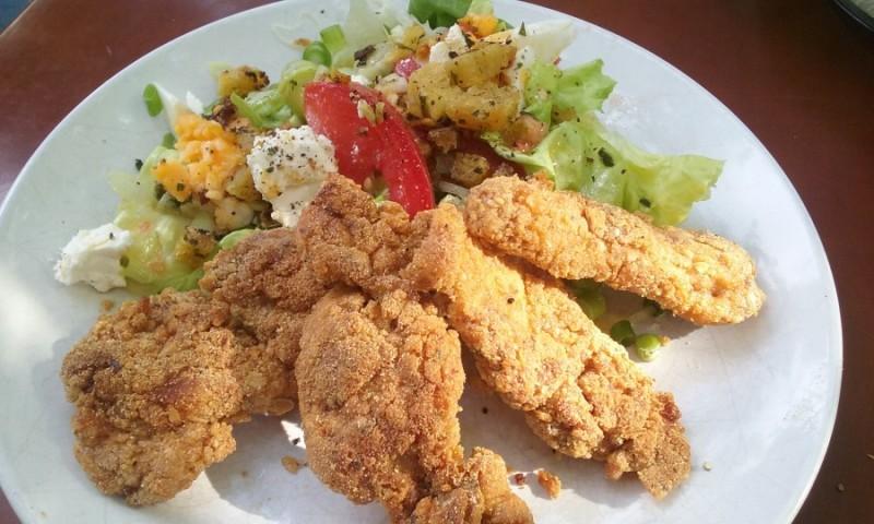 Czary Penelopy: Kurczak na sałacie