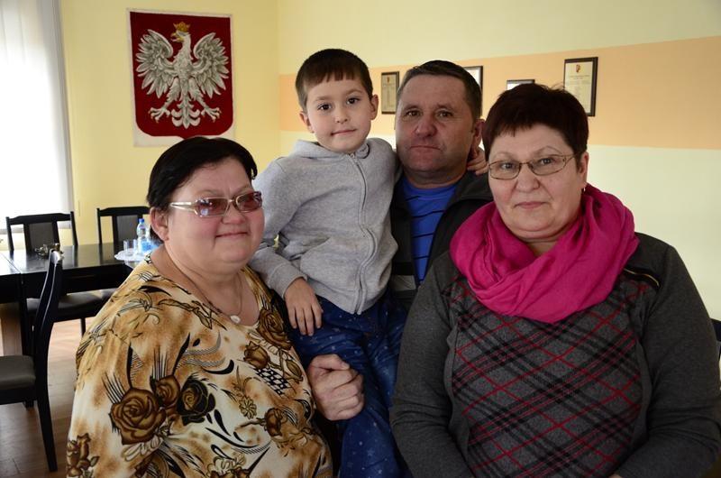 Przyjęli rodzinę z Kazachstanu