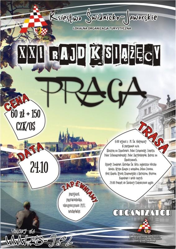 XXI Rajd Książęcy - Praga a