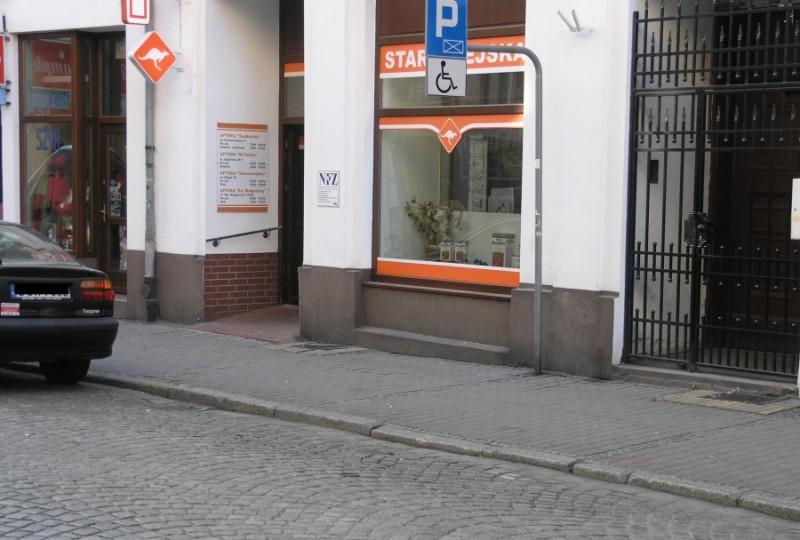 miejsce parkingowe 1