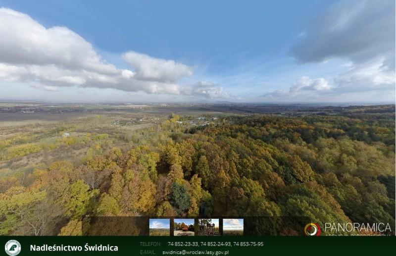 panorama Świdnica
