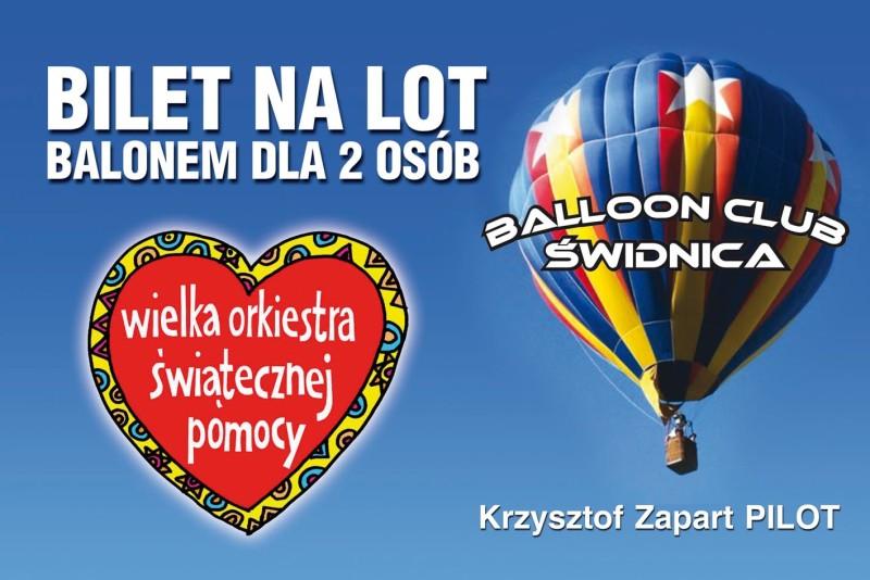WOSP balon