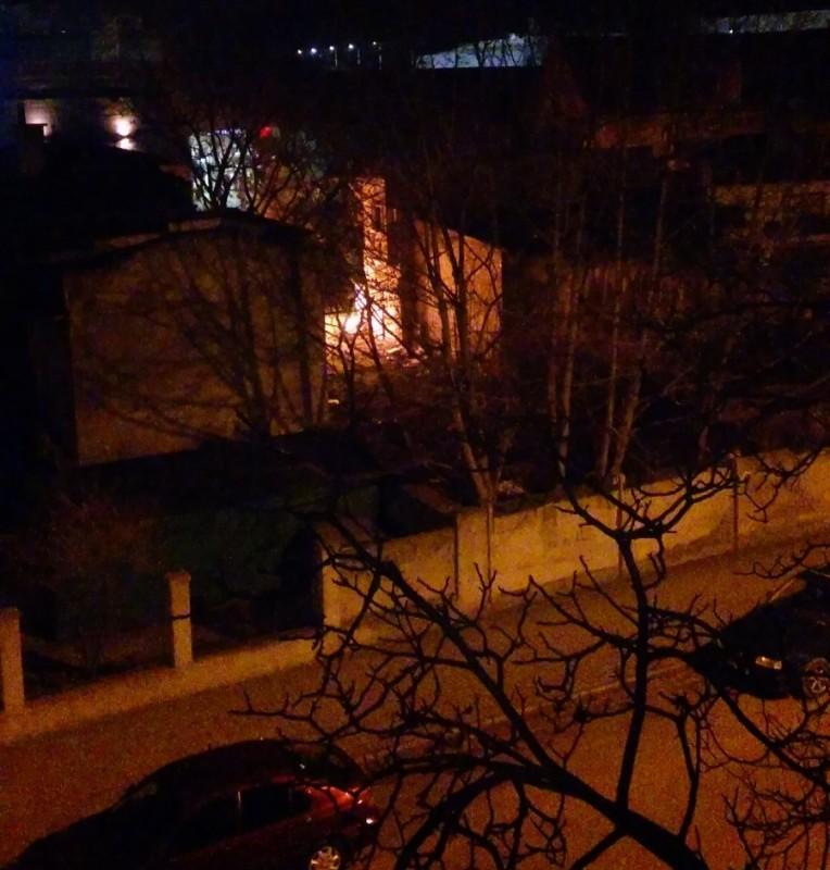 Podpalacze na Zygmuntowskiej