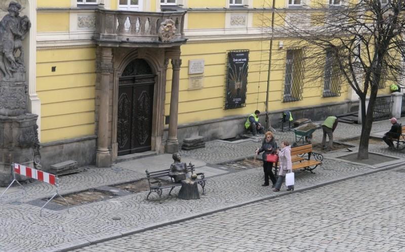 Rynek chodnik
