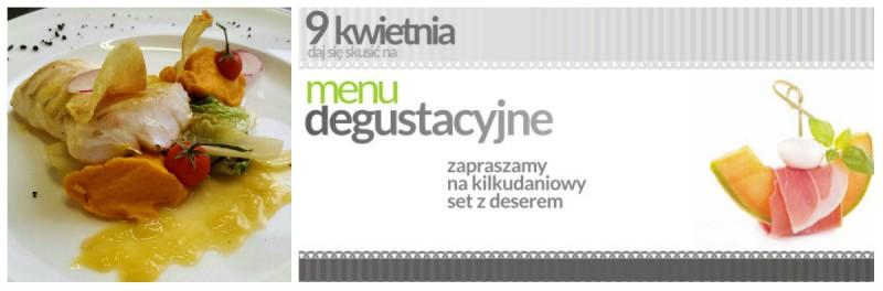 menu degustacyjne kolaż