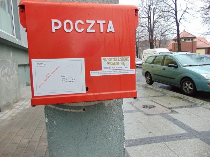 skrzynka pocztowa