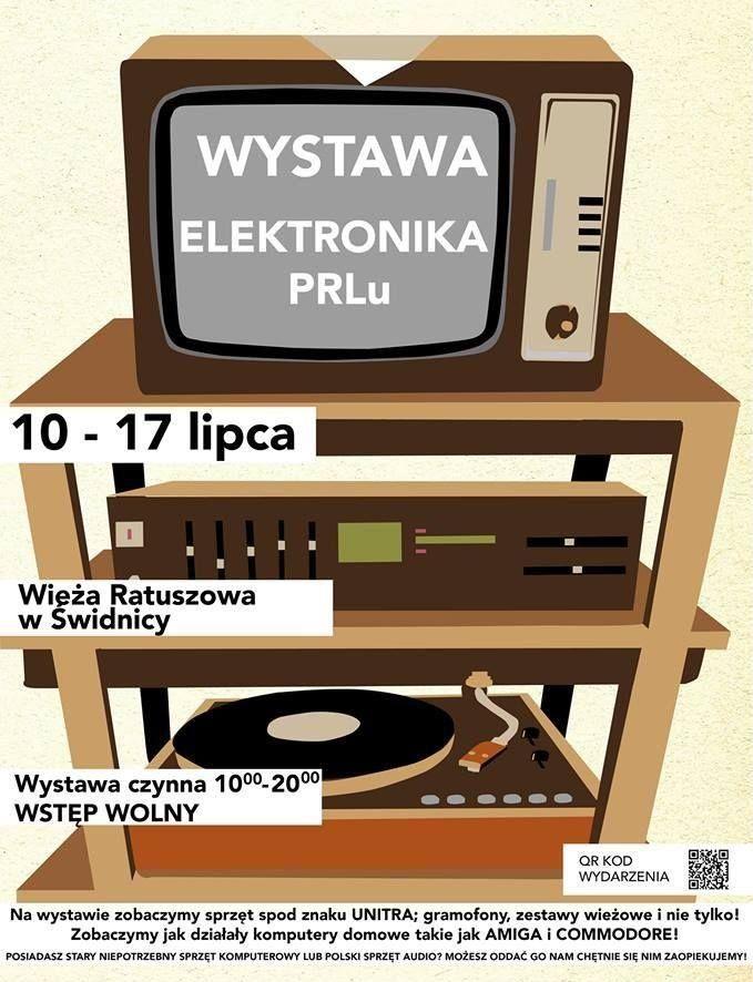 Elektronika PRL plakat