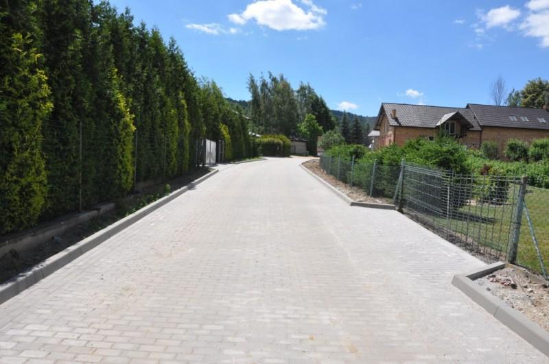 Nowa droga w Bystrzycy Górnej