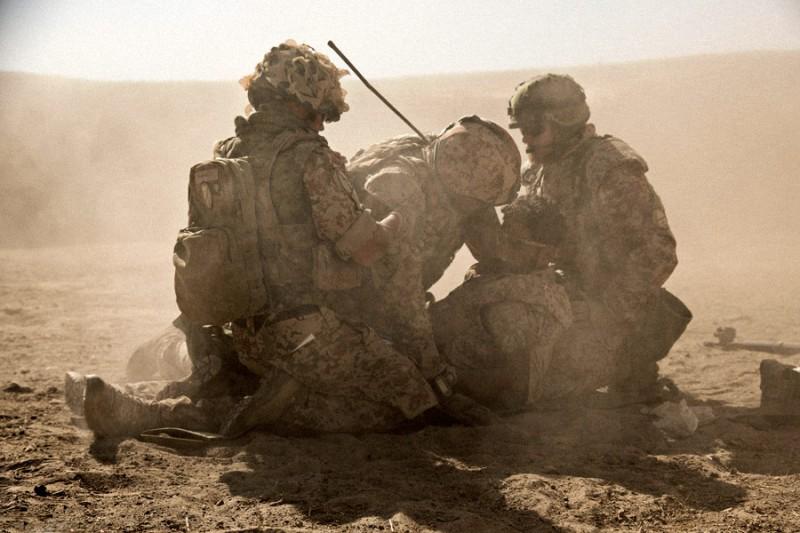 kadr z filmu Wojna