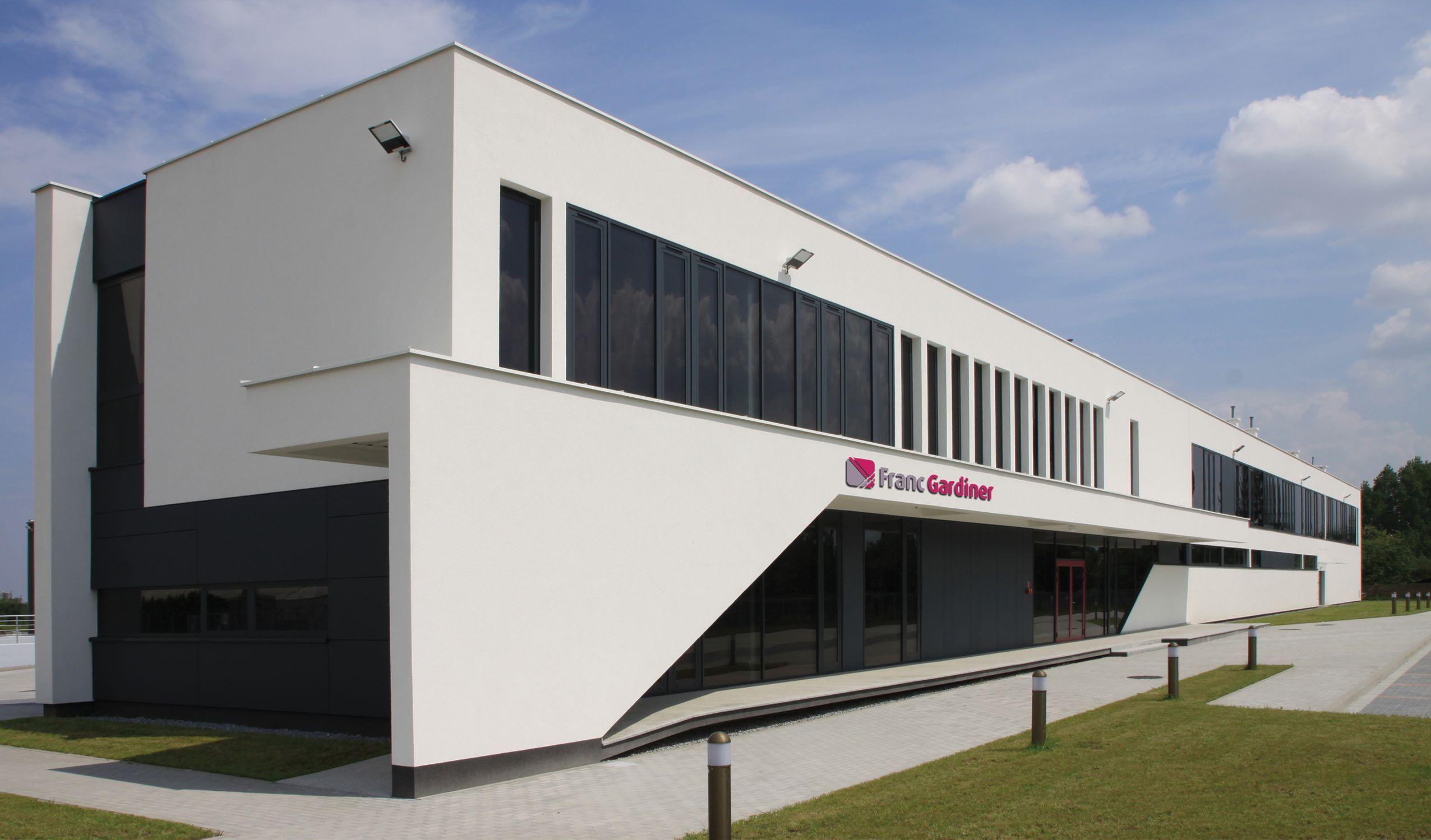 nowa siedziba firmy Franc Gardiner