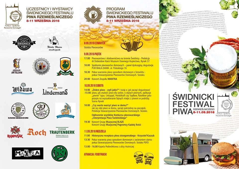 plakat festiwal piwa