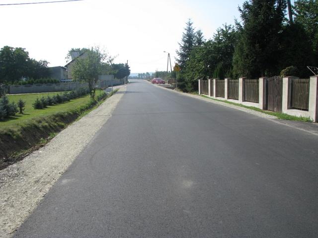 Droga do Zebrzydowa wyremontowana