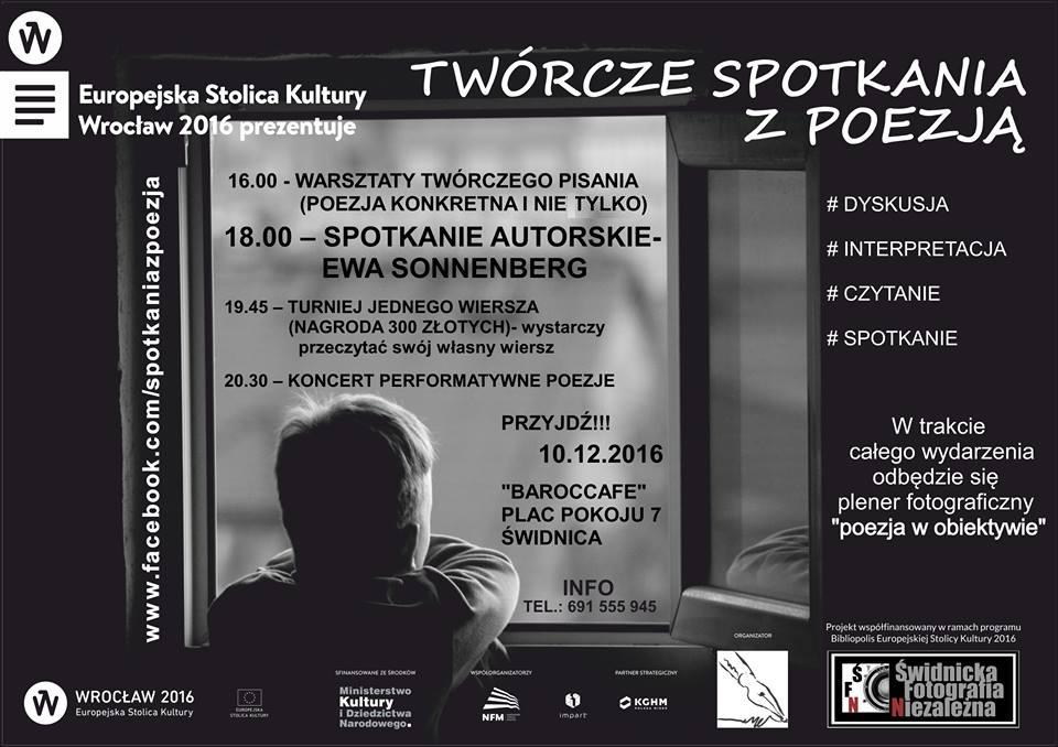 Twórcze Spotkania Z Poezją Swidnica24pl Wydarzenia